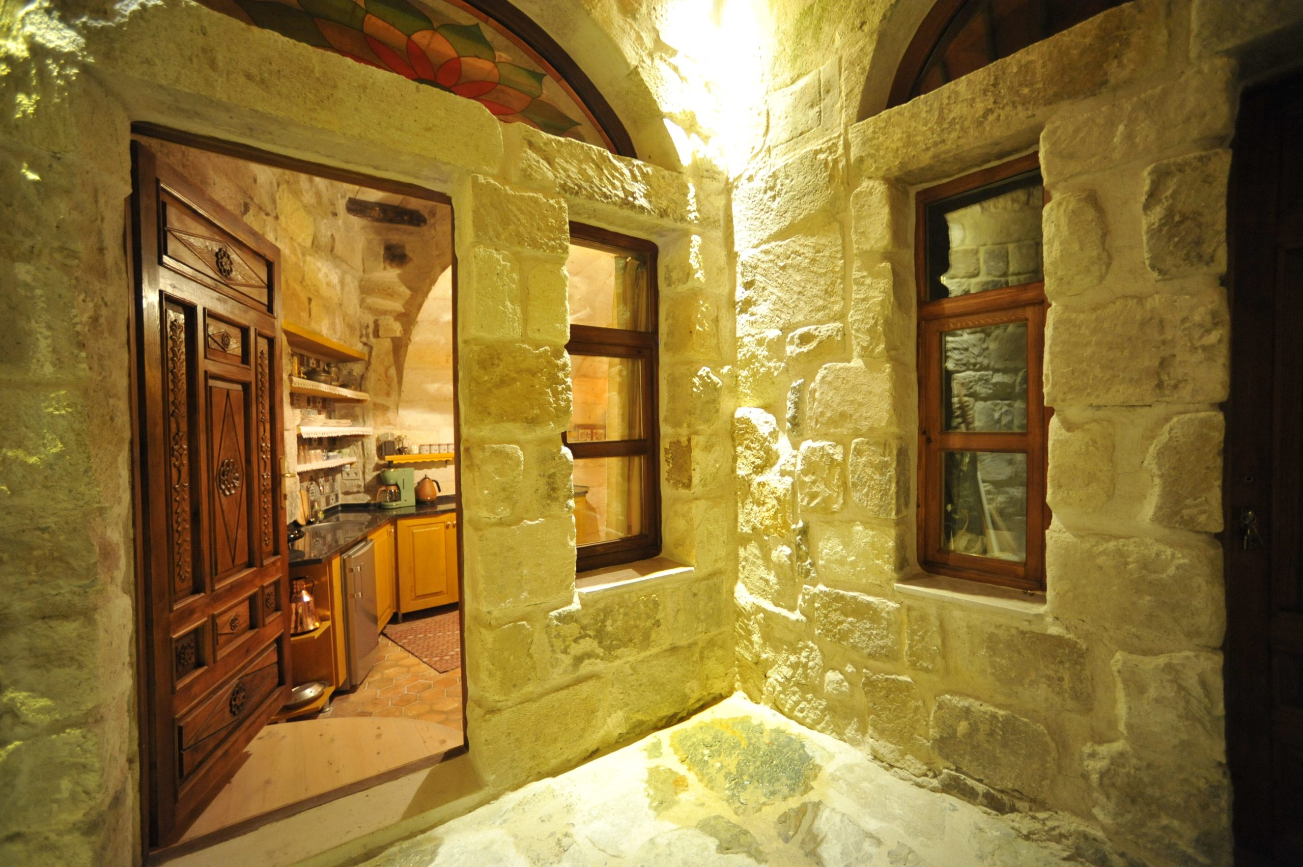 Cave House With Turkish Bath And